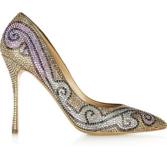Nicholas Kirkwood Swarovski Crystal Shoes21 e1363616229219 If Feet Could Dream...