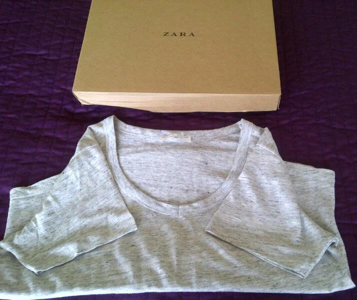 IMG 20140805 00665 Mostly Lovin: Zara Linen T Shirt
