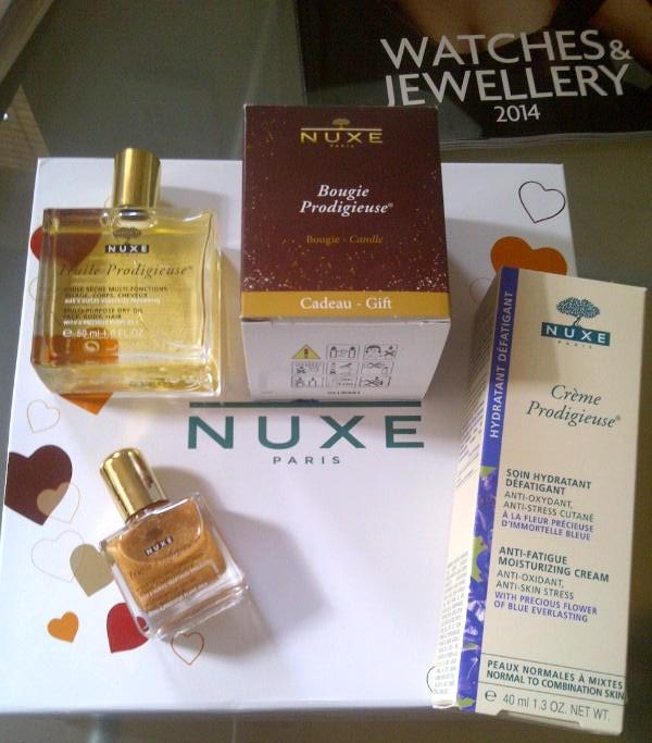 Nuxe Perfume, The Nuxe Prodigieuse set